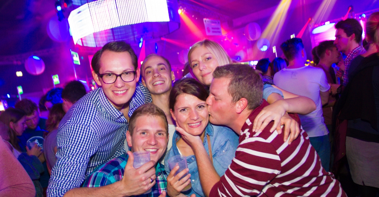 21.10.2014 Halle 7 - 1. Semester Party