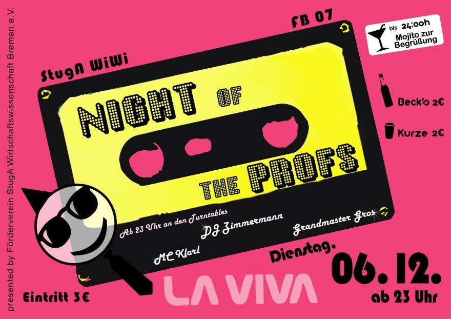 Night of the Profs im La Viva