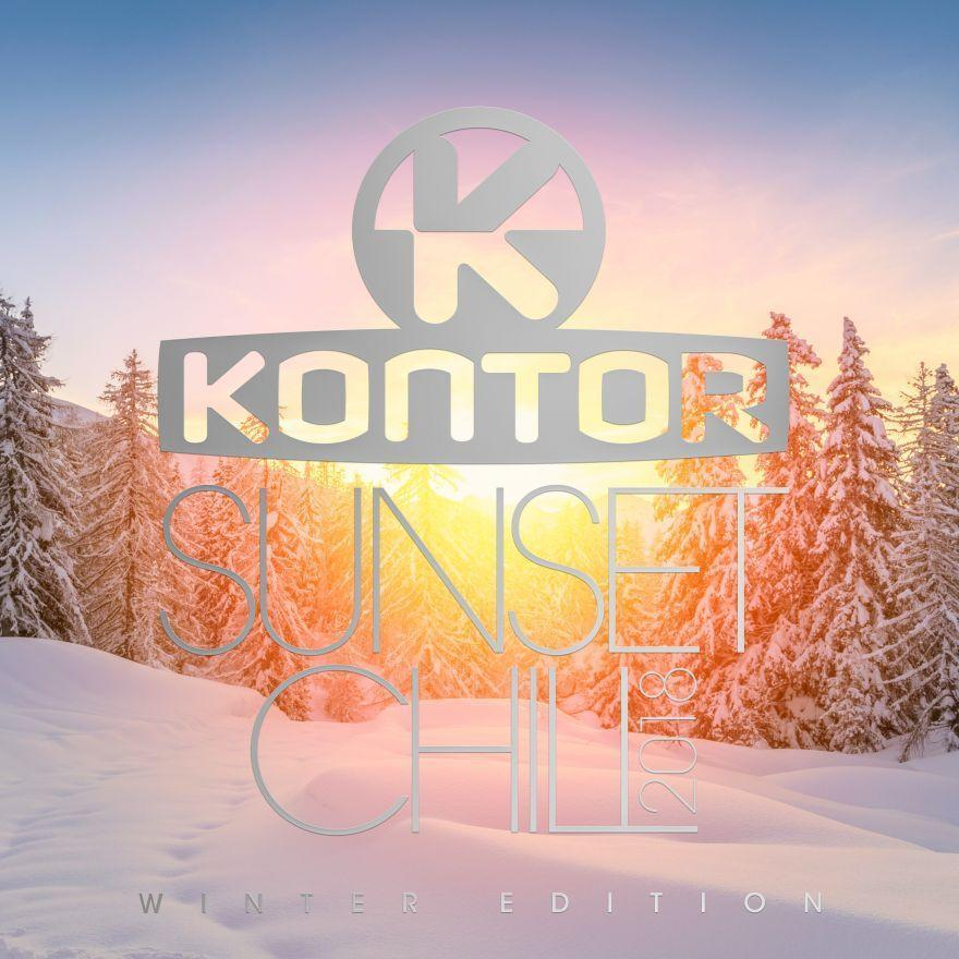 Cover Kontor Sunset Chill 2018 Winter Edition RGB1