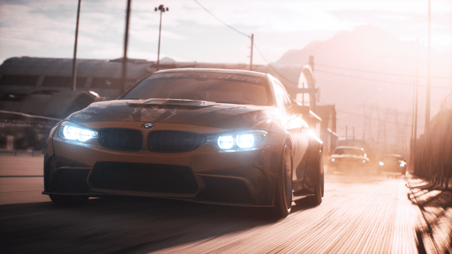 Need for Speed Payback Car Chase 1080p clean