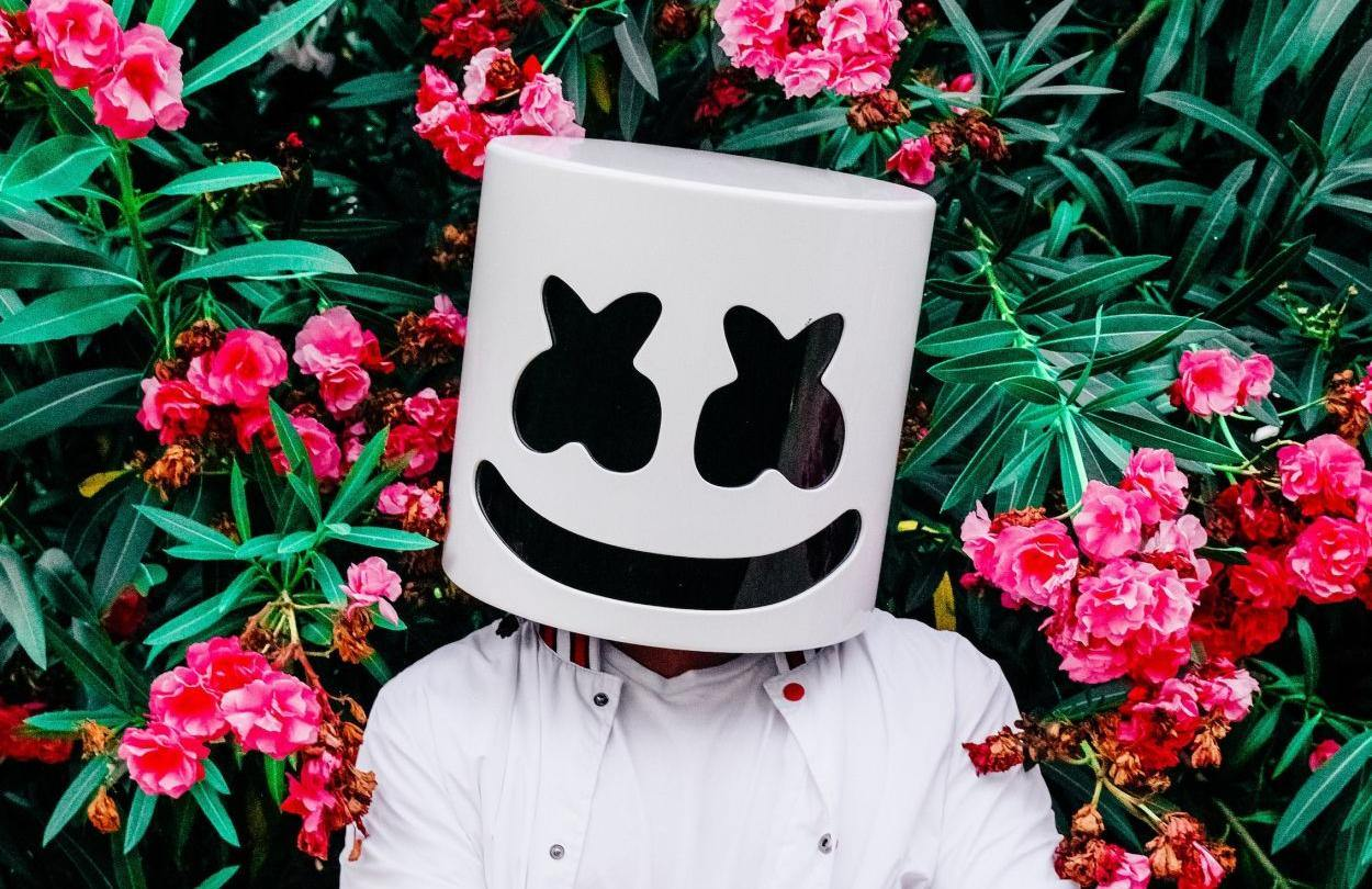 Marshmello press shot