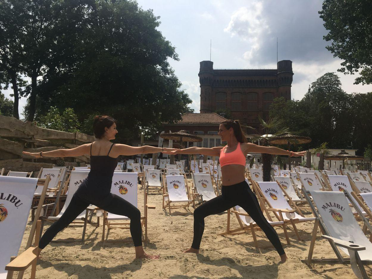 Pop Up Yoga und Pilates