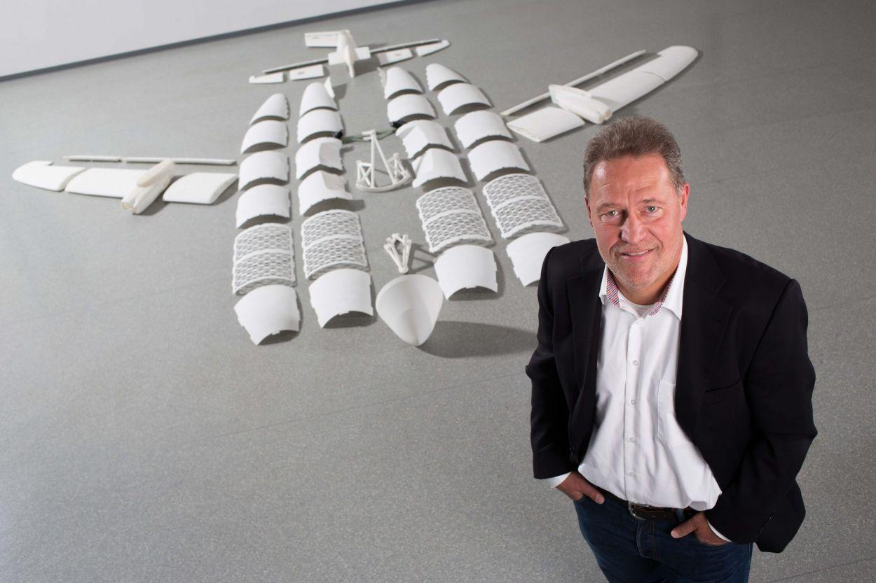 Airbus Peter Sander with printed Aircraft Puzzle 102015