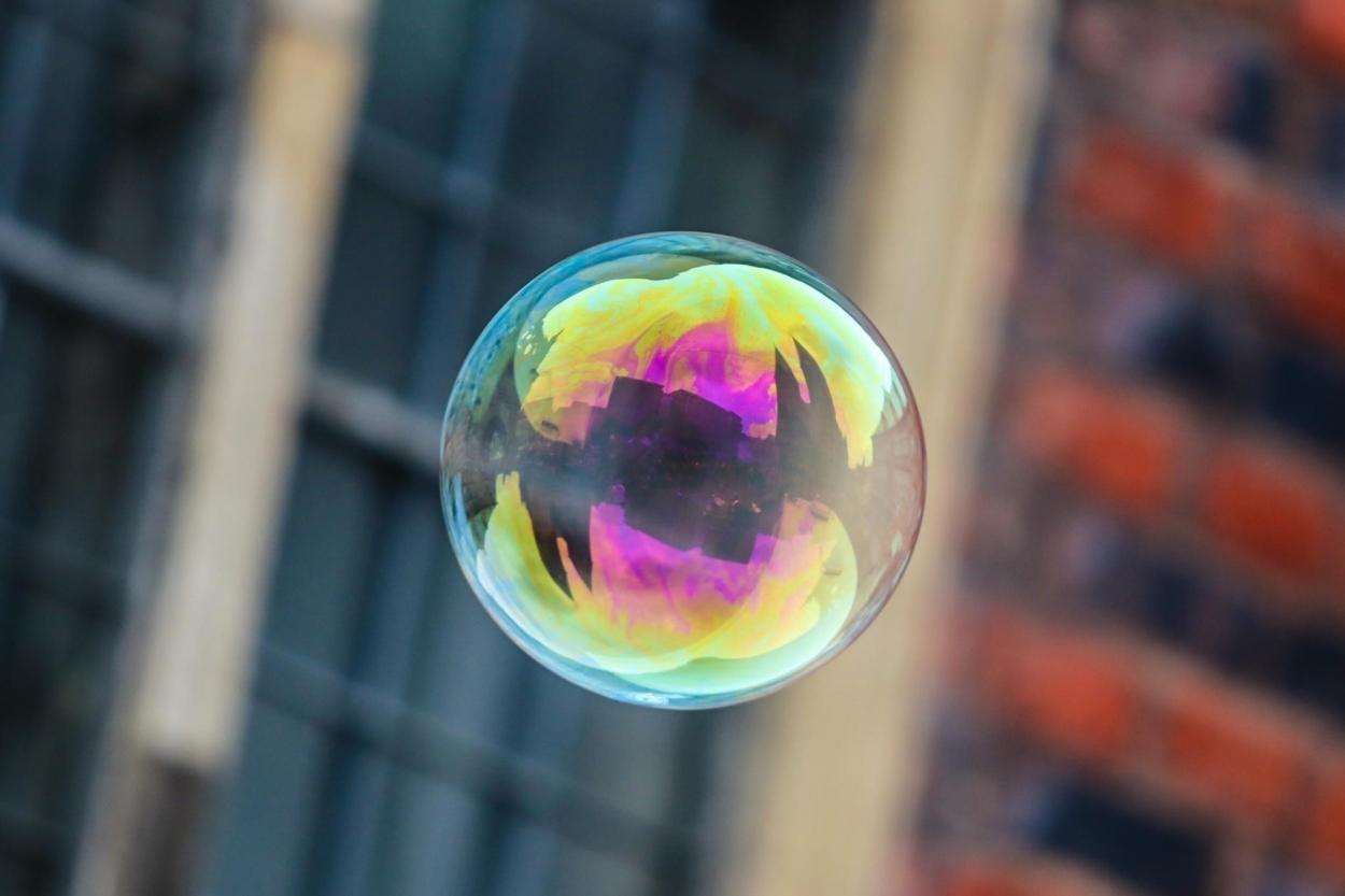 5. Seifenblasen-Flashmob auf dem Bremer Marktplatz