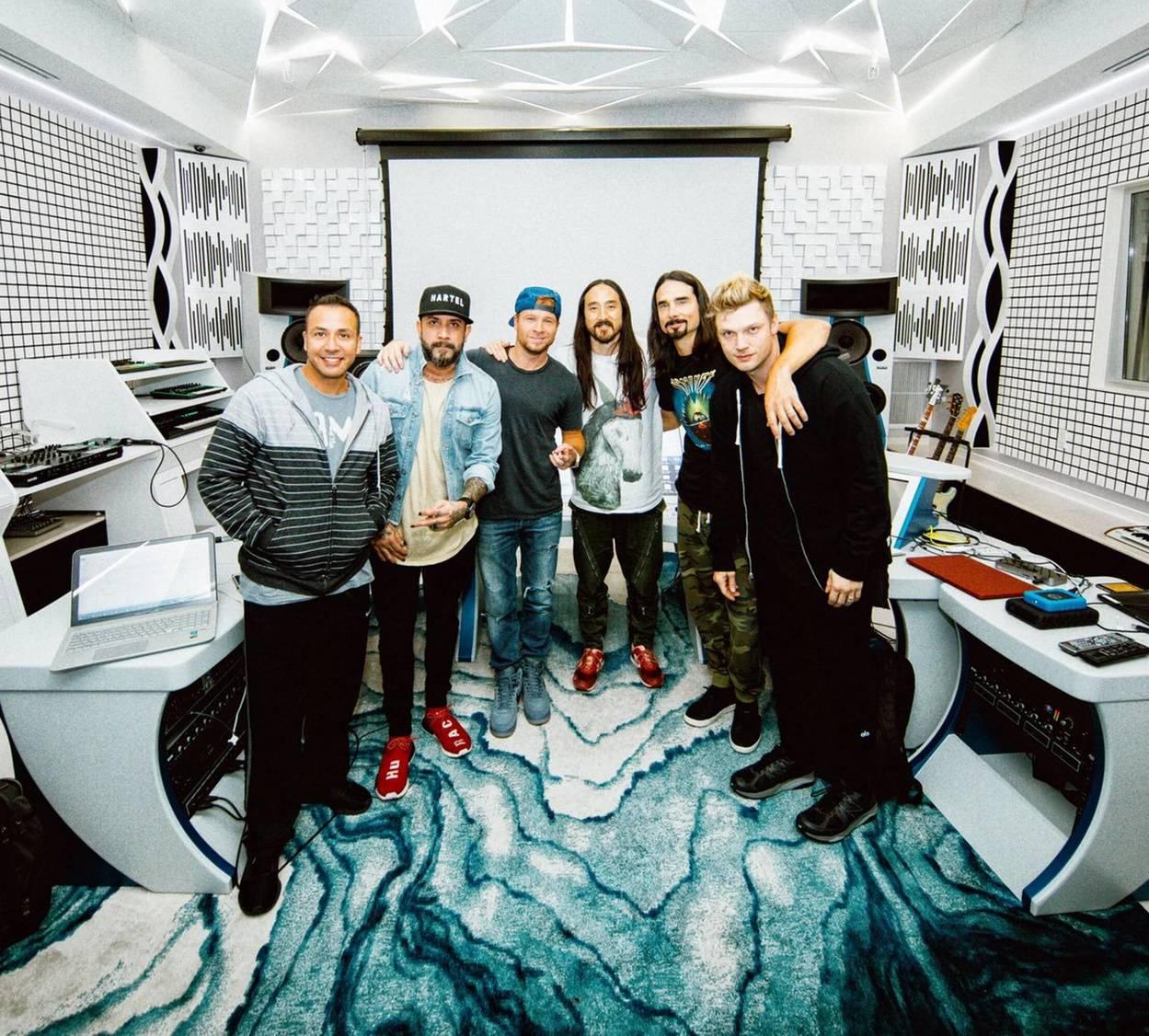 Steve Aoki x Backstreet Boys